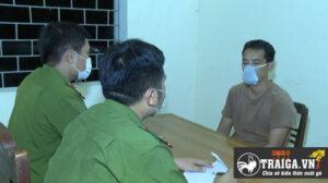 Đá gà bị bắt tại tỉnh Thanh Hóa